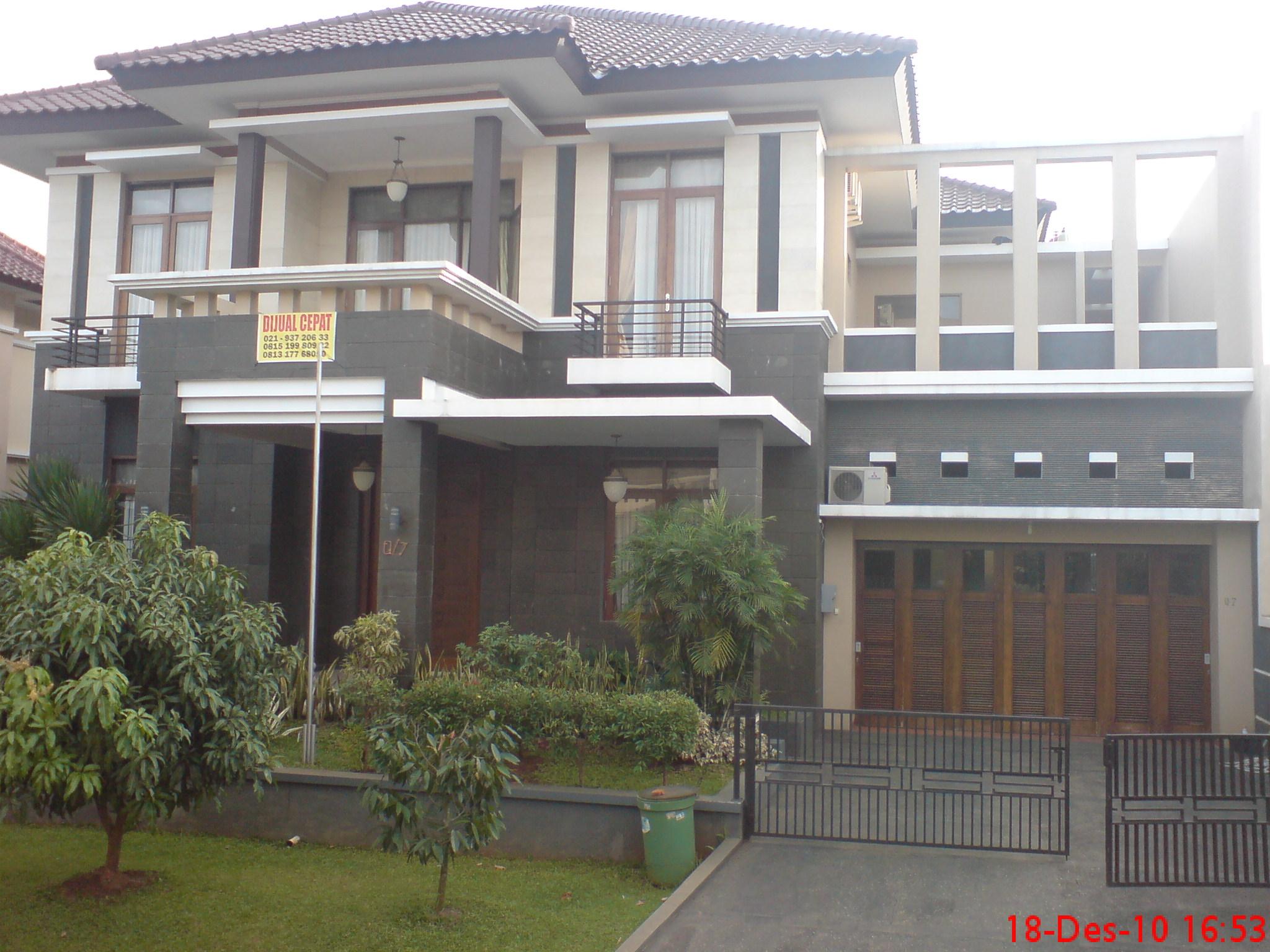 Rumah mewah dijual di Lebak Bulus, Jakarta Selatan